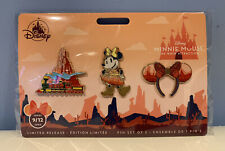 Disney Minnie Mouse The Main Attraction Big Thunder Mountain Pin Set September