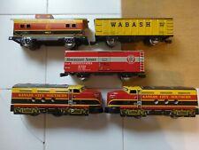 MARX TRAIN SET No. 8842 KANSAS CITY SOUTHERN ALL TIN SET O/BOX