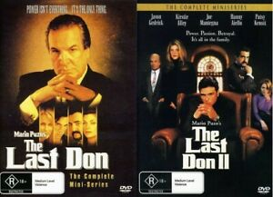 The Last Don / The Last Don II Set DVD NEW Fast Shipping