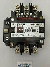 CUTLER HAMMER C10DN3 CONTACTOR 45 AMP 575V 3 PHASE 120V-110V COIL B1 *WARRANTY*