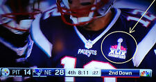 2014 SUPER BOWL XLIX 49 PATRIOTS CHAMPIONS JERSEY IRON-ON PATCH on 9/10/2015