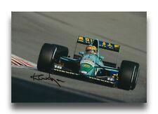 KARL WENDLINGER HAND SIGNED 12X8 PHOTO - F1 AUTOGRAPH.