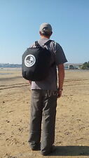 40 litre lightweight waterproof dry bag. Rucksack straps. OK for submersions.