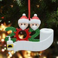 ADD Name 2020 Xmas Christmas Tree Hanging Ornaments Family Ornament Decor Hot