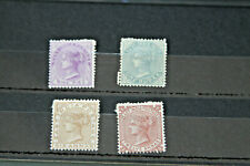 INDIA - !874/6 - 4 VALUES IN CARD _ MINT