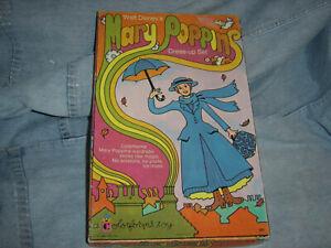 Vintage 60's Walt Disney's Mary Poppins Colorforms Dress-up Set w/Box COMPLETE