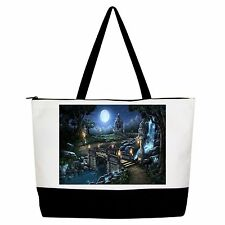 Fairy Bridge Handbag Purse Tote Shopper Shoulder Bag