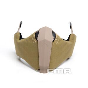 FMA Airsoft Maske Half Face Mask Gunsight Mandible für schnelle Helm Military