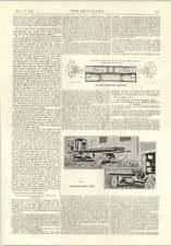 1914 Fullager Engine For Aeroplane Newcastle Self-loading Motor Lorry