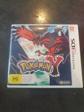 POKEMON Y for Nintendo DS Case Only! No Game AUS Import