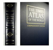 Folio Society Times Comprehensive World Atlas 11th Edition 2003 Leather Gilt