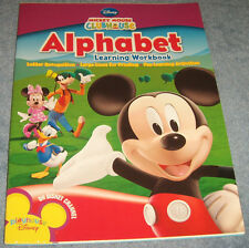 Mickey Mouse Clubhouse Alphabet Workbook New FREE SHIPPING