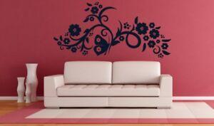 Flower Power Vinyl Sticker Decor Wall Decoration Wall Art GENUINE BROOMSTICKER