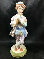 Vintage Bisque Porcelain ARDALT 6266A Man with Lute Figurine