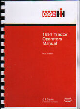 "CASE IH ""1694"" Tractor Operator Instruction Manual"