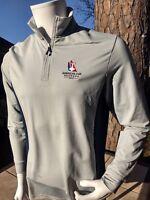 NWT men's Vineyard Vines America's Cup 2017 Bermuda 1/4 zip pullover   $135 MSRP