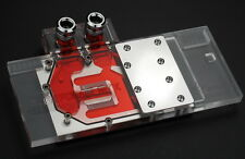 GPU Water Block Jet Plate Full Cover For ZOTAC GTX970 GTX760 GTX660TI SLI Ready