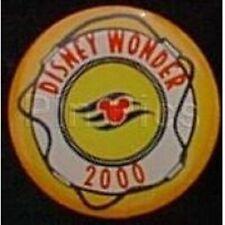 Disney Pin: DCL - Disney Cruise Line Wonder Achievement 2000