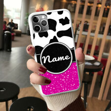 Personalised Cow Print For iPhone Samsung Huawei OnePlus Phone Case Cover OD31-1