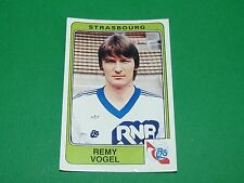 N°291 VOGEL RC STRASBOURG PANINI FOOTBALL 86 CHAMPIONNAT FRANCE 1986