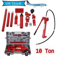 Hydraulic Power Car Van Jack Body Porta Frame Repair Kit Auto Car Tool 10ton New