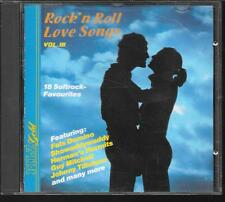 CD COMPIL 18 TITRES--ROCK' N ROLL - LOVE SONG BOL.3--DOMINO/MITCHELL/TILLOTSON/