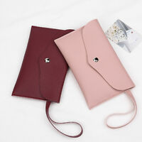 Women Long Purse Wallet Card Holder Phone Key Coin Change Pouch Party Clutch Bag