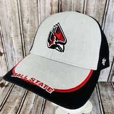 Ball State Cardinals Hat Embroidered Cap Adjustable FourtySeven Brand