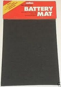 BATTERY MAT ACID ABSORBER & NEUTRALIZER (BLACK)