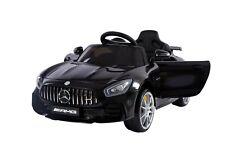Mercedes GTR AMG Kinder Elektro Auto Kinderfahrzeug Sportwagen 2x35W USB MP3 Neu