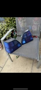 Mk2 Golf Gti Blue HELLA tail lights left and right