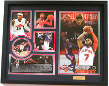 New Carmelo Anthony New York Knicks Limited Edition Memorabilia Framed