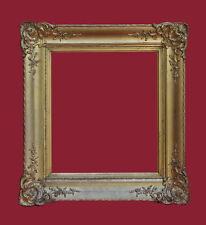 Profilrahmen - Holz, vergoldet - 19. Jahrhundert  um 1850   (# 2197)