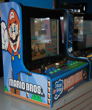 Bar Top Multiple Games Arcade Cabinet! Mario, Simpsons, X-Men, Tapper,& more #3