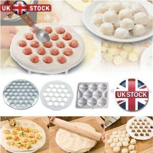 19/37Holes Dumpling Mould Maker Kitchen Dough Press Ravioli Making Mold Maker UK