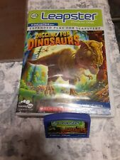Leapster digging for dinosaurs game cartridge in case!