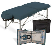 Earthlite Luna Portable Lightweight Massage Table Package w/ Headrest & Case NEW