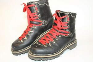 adidas Mens Size 11.5 46 Leather 1998 RARE Lace Up Hard Toe Hiking Boots 087804