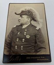 AOKMC Ancient Order of the Mystic Chain Masonic Off Shoot Cabinet Card Photo