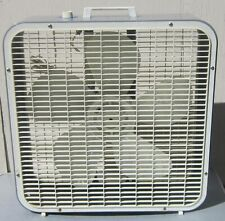 "Vintage KMART 3-speed BOX FAN Refurbished 22"" x 22"" x 6.5"""