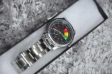 Reloj de Pulsera Cargador de Dirección Reloj de coche del músculo Dodge Regalo Caja Hombres Mujeres Idea de Regalo