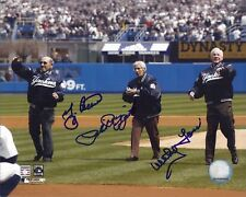 "Berra, Rizzuto and Ford N Y Yankees 8"" X 10"" Autographed Color Photo"