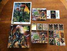 2015 TOPPS KS MARS ATTACKS OCCUPATION Lot Sealed Green Foil Promo Binder Sets