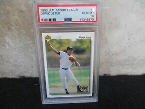 1992 Upper Deck Minor League Derek Jeter #5 PSA 10. HOF 2020 Gem Mint RC! Hot!!