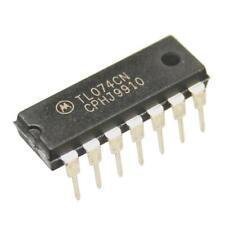 TL074CN OPAMP 4-fach 4 0mhz 13v/µs Dip14 Von Motorola