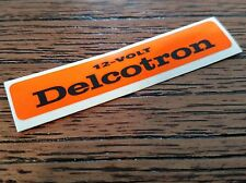 1964-71,OLDS,OLDSMOBILE,BUICK,CHEVY,PONTIAC,DELCOTRON ALTERNATOR,DECAL,GM