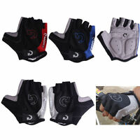 Unisex Cycling Gloves Bicycle Motorcycle Sport Half Finger Gloves S- XL Size XI