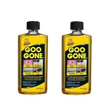 2x Goo Gone 8oz (236ml) Bottles - Ink, Tar, Sticker, Gum, Adhesive Remover