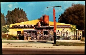 Funky Roadside Restaurant: Showtown USA, Gibsonton, FL. 1960s. Carnival Sideshow