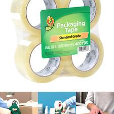Duck Tape Brand Standard Packaging Tape Refill 4 Rolls 188 Inch X 100 Yard